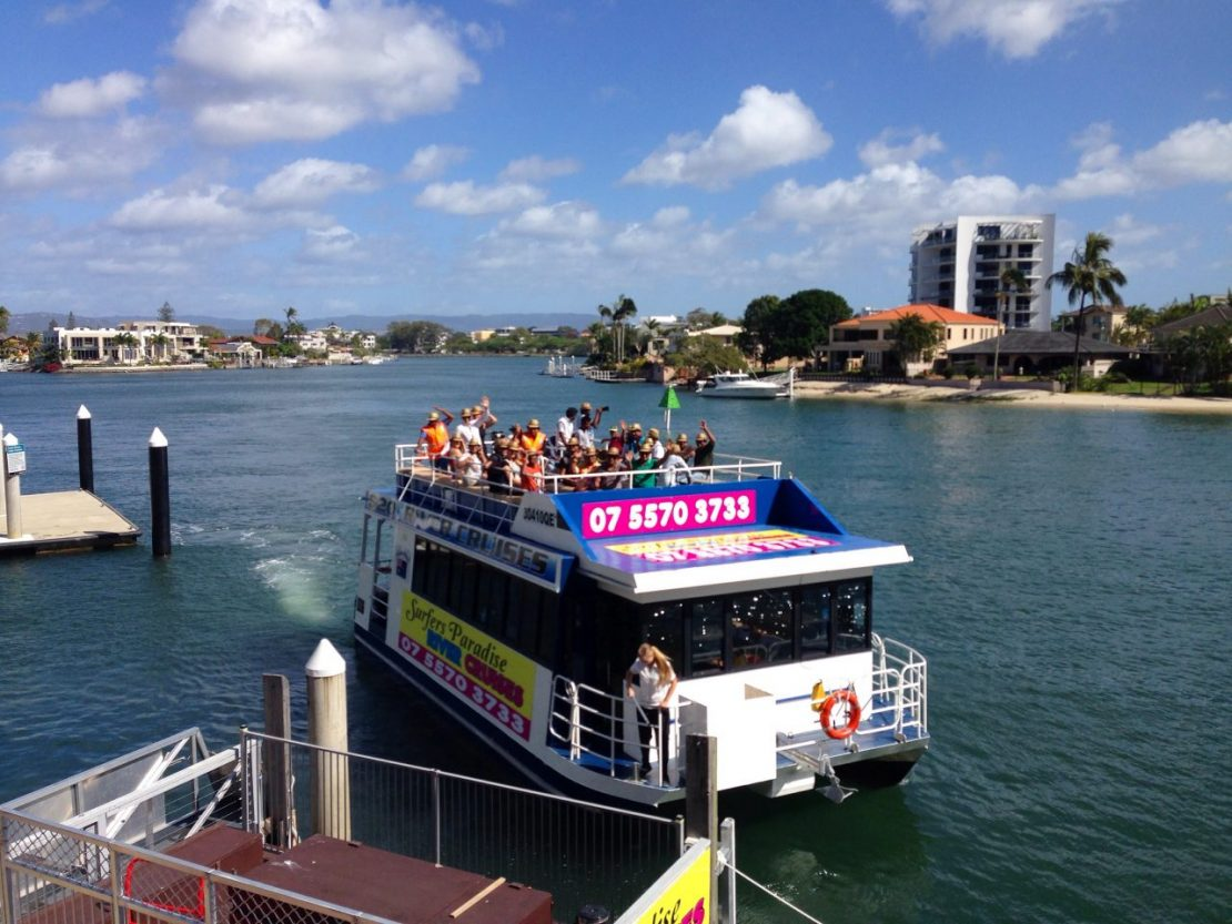 Gold Coast afternoon cruise.