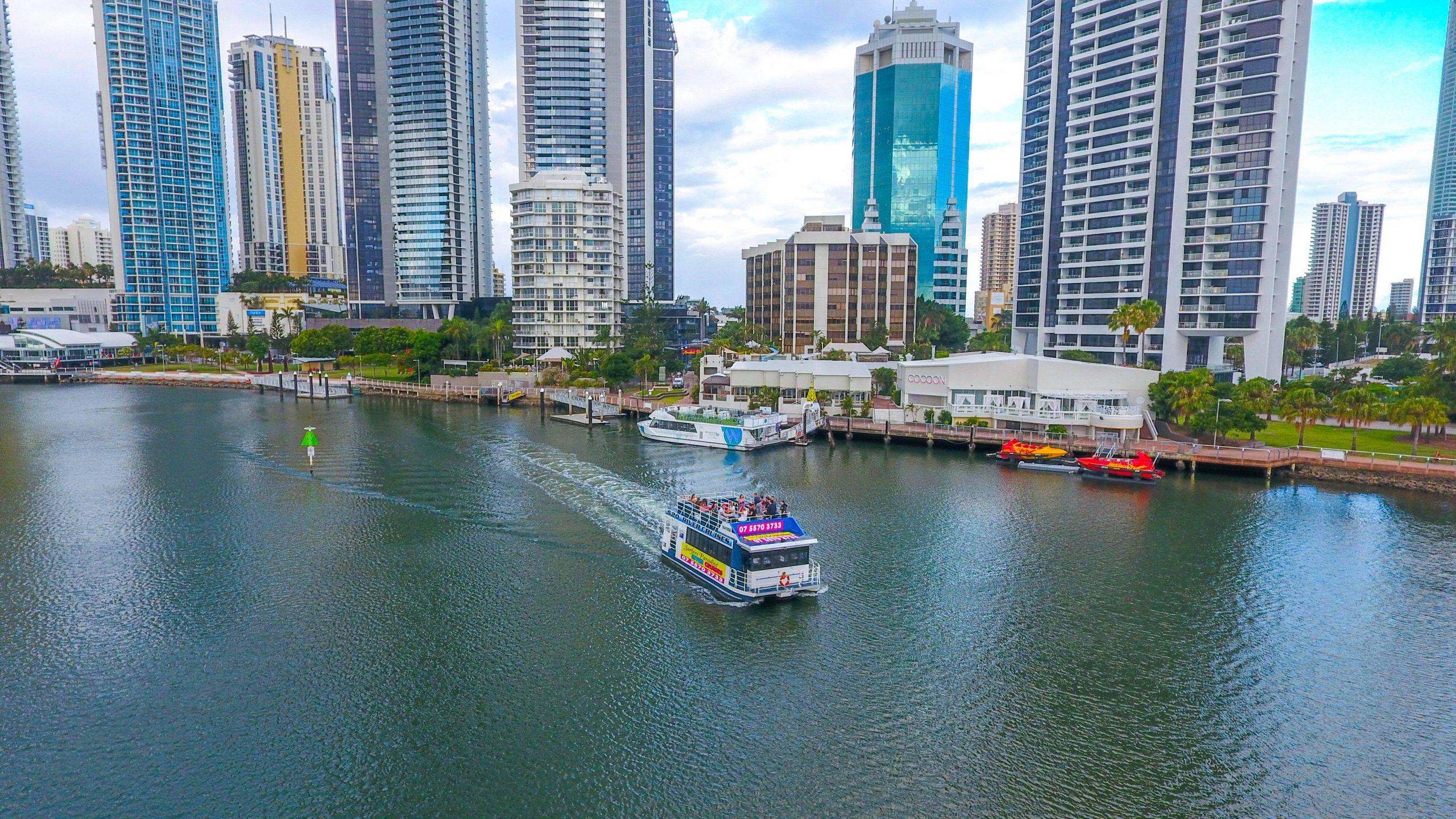 Gold Coast River Cruise.